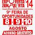 EXPOFERTA ZONA ABERTA 8-10'14