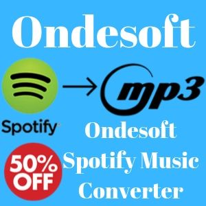 ondesoft spotify music converter discount coupon code