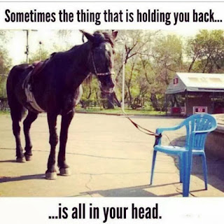 Sometimes The Excuse Is All In Your Head