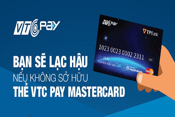 Thẻ VTC Mastercard là gì? Cách mở thẻ VTC Mastercard.