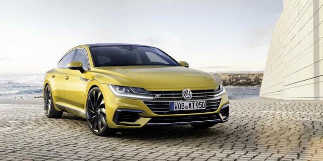 2018 Volkswagen Arteon yellow