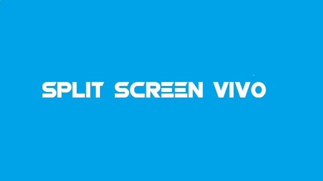 cara split screen vivo