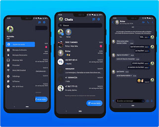 Dark Special Theme For RC WhatsApp Download