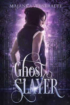 Ghost Slayer, Majanka Verstraete, urban fantasy, cover,