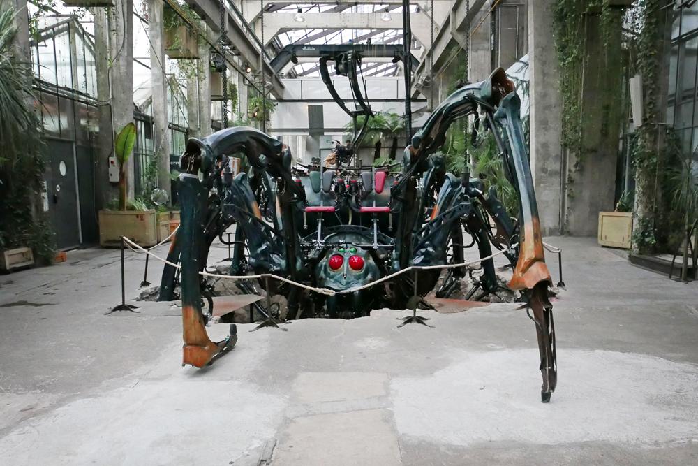 L'araignée des machines de l'île de Nantes