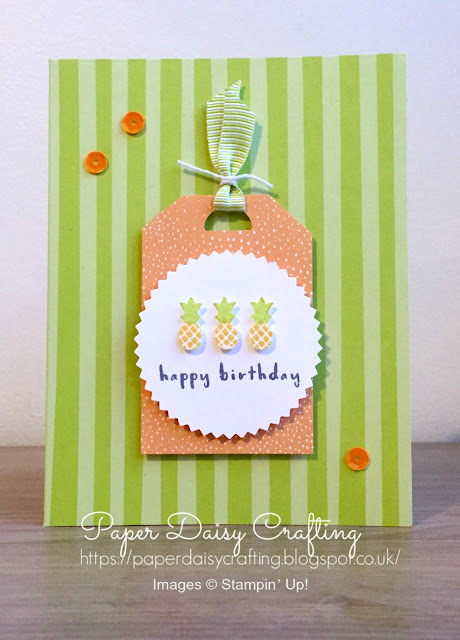 Tutti Frutti cards and envelopes Stampin' Up!