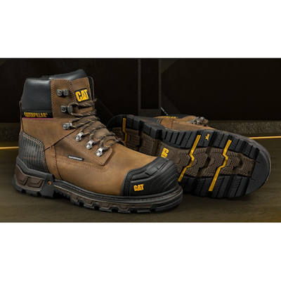 Sepatu Safety Caterpillar Excavator XL 6″ Original