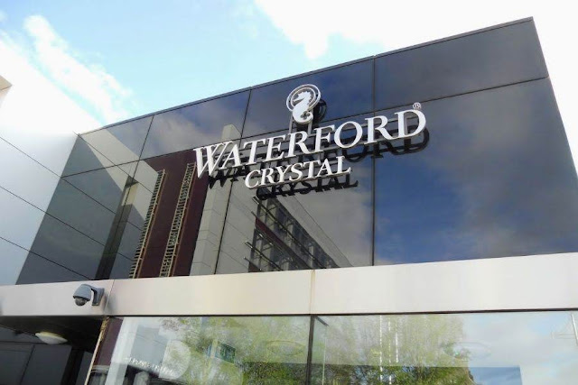 Waterford City: Waterford Crystal showroom