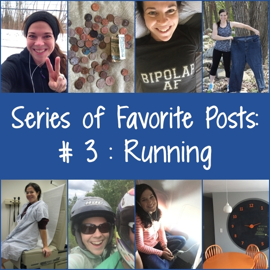 Favorite posts about running