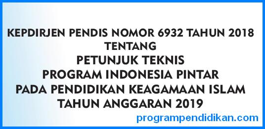 Juknis PIP Pendidikan Keagamaan Islam 2019