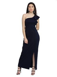 Women-One-Shoulder-Maxi-Dress