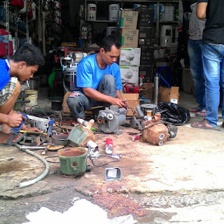 Servis Mesin Pompa Air