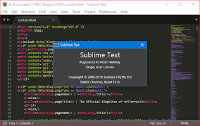 sublime text 3 terbaru