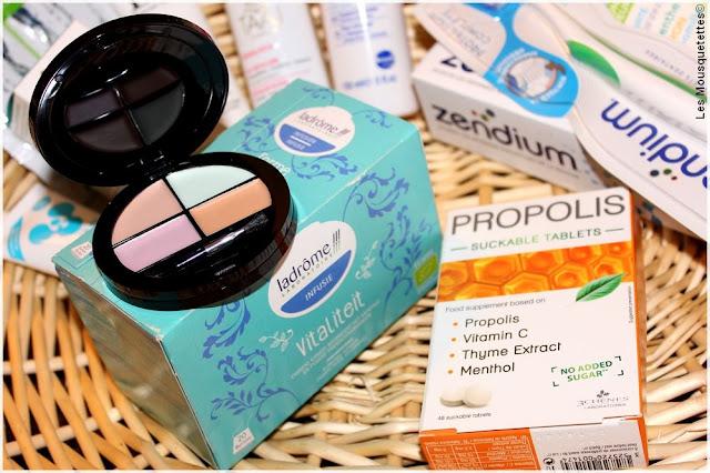 Douceur Hiver, box beauté Top Santé - PB Cosmetics, Ladrôme, Laboratoires 3 Chênes - Blog beauté Les Mousquetettes