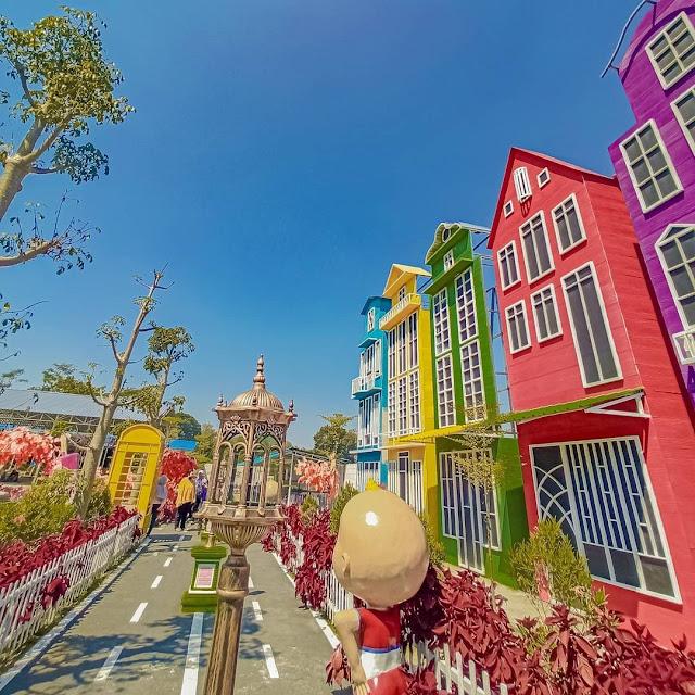 Lokasi dan Tiket Masuk Wisata Kota Mungil Ngancar Kediri Terbaru