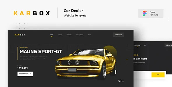 Download Car Dealer Website Figma Template