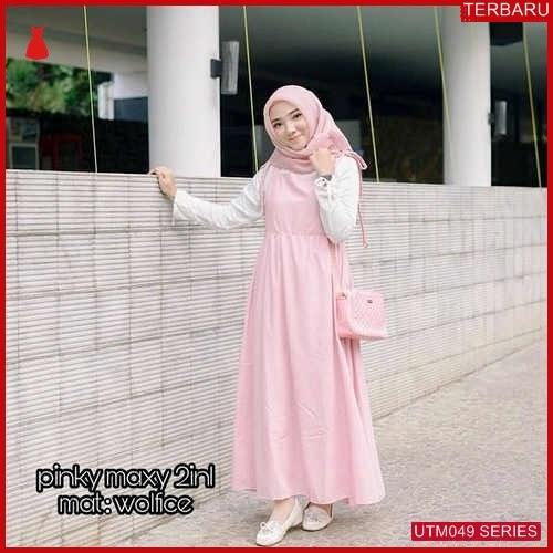 UTM049T88 Baju Ter Muslim Pinky Dewasa Maxi UTM049T88 031 | Terbaru BMGShop