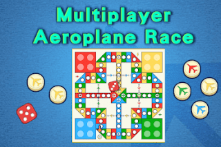 Play the Aeroplane Race Game with your family and friends