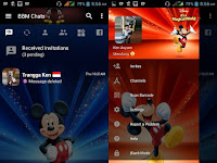 BBM MOD Mickey Mouse v3.2.5.12 for Android Terbaru