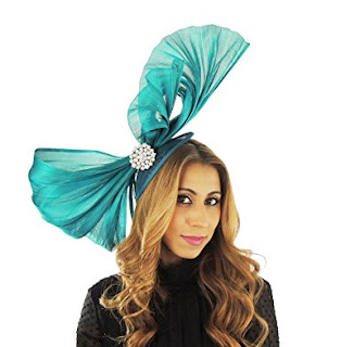 Gorgeous Omadhoo Silk Ascot Derby Fascinator Hat