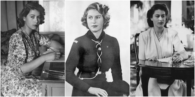 20 Fascinating Black and White Portraits of Queen Elizabeth II in the 1940s