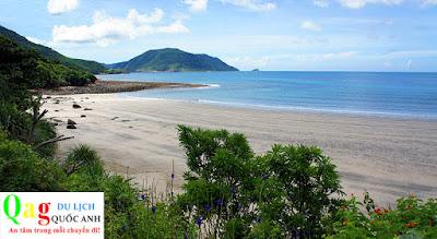 Vẻ đẹp bãi tắm An Hải ở Côn Đảo