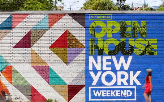 Dry As Toast: Open House New York Weekend