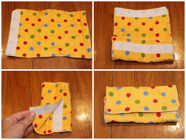 make your own baby carrier chew pads