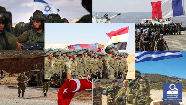 مقارنة في القدرات العسكرية بين (فرنسا–مصر–تركيا–اليونان-إسرائيل)