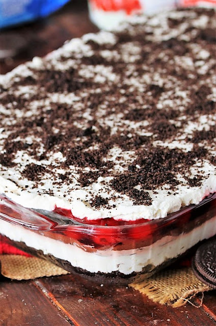 Layers of Black Forest Yum Yum Image