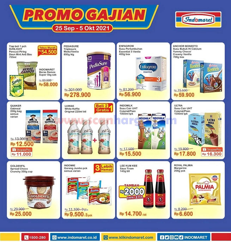 INDOMARET Promo GAJIAN Periode 25 September - 5 Oktober 2021 1