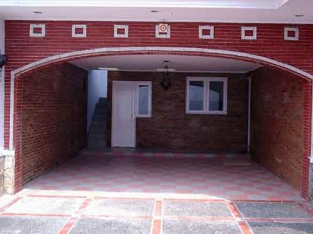 batu bata untuk garasi yang unik