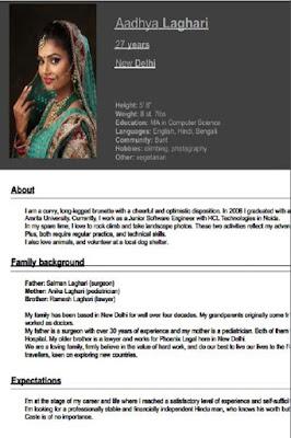Marriage biodata form pdf
