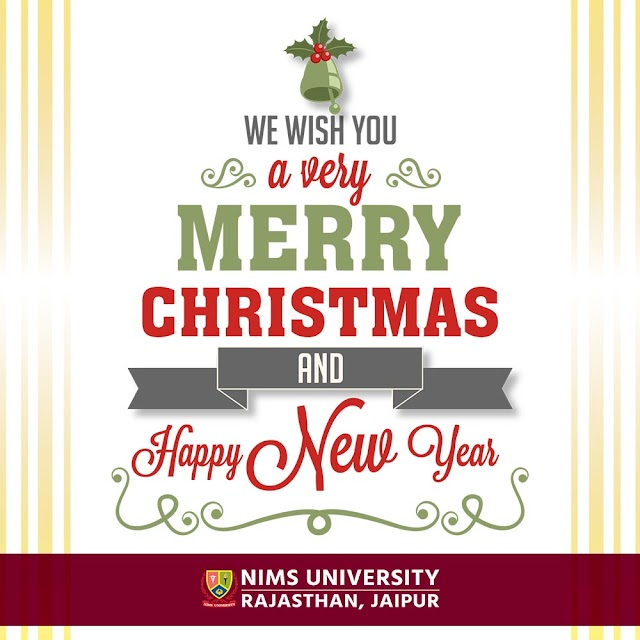 Merry Christmas Greetings, Messages, Wishes : Nims University