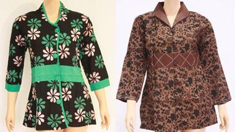 model baju atasan modern