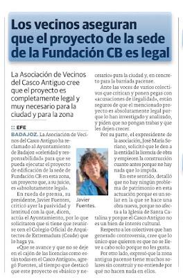 Fundación CB, Badajoz Casco anturguo