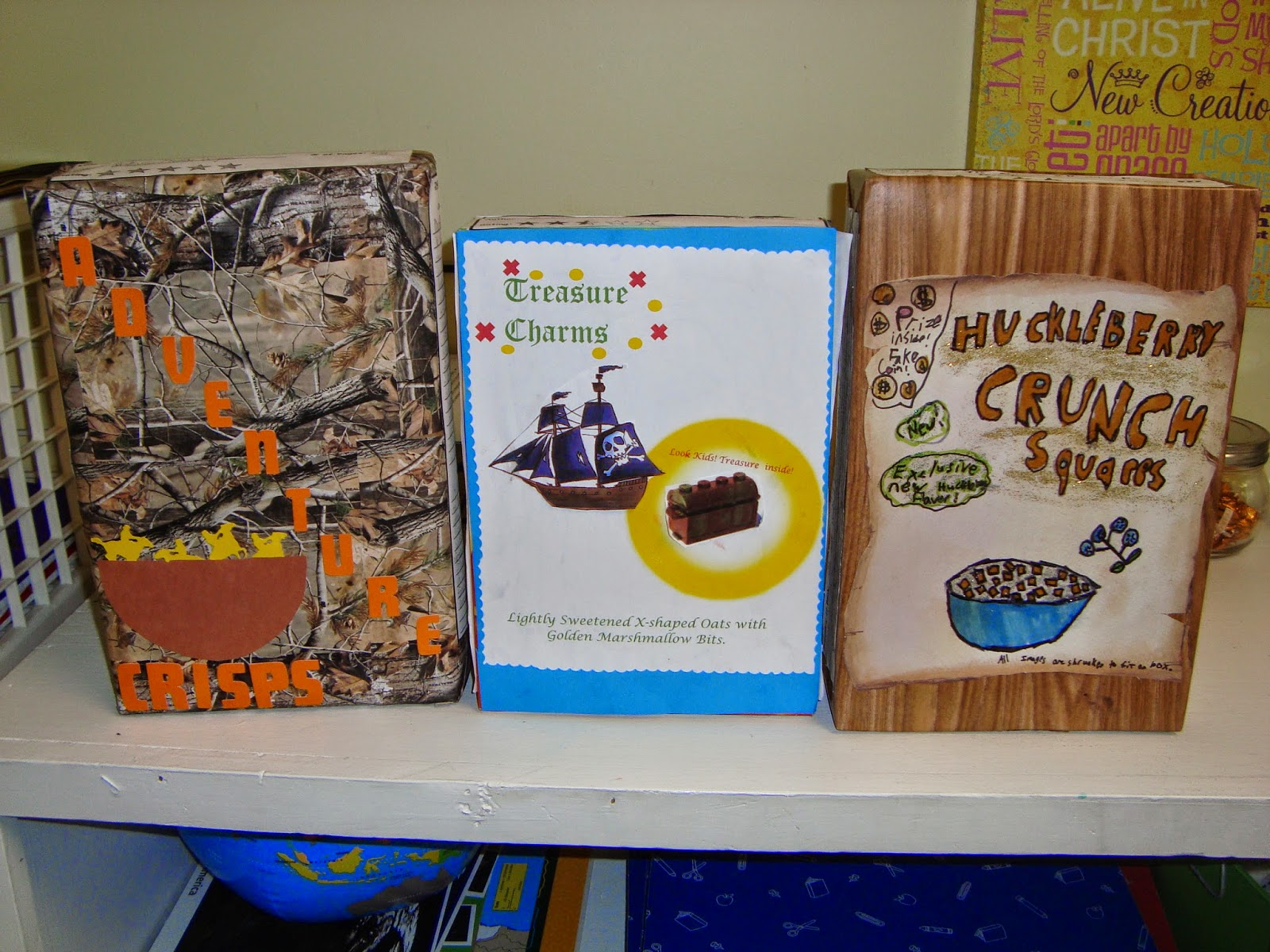 Our Last Cereal Box Book Report