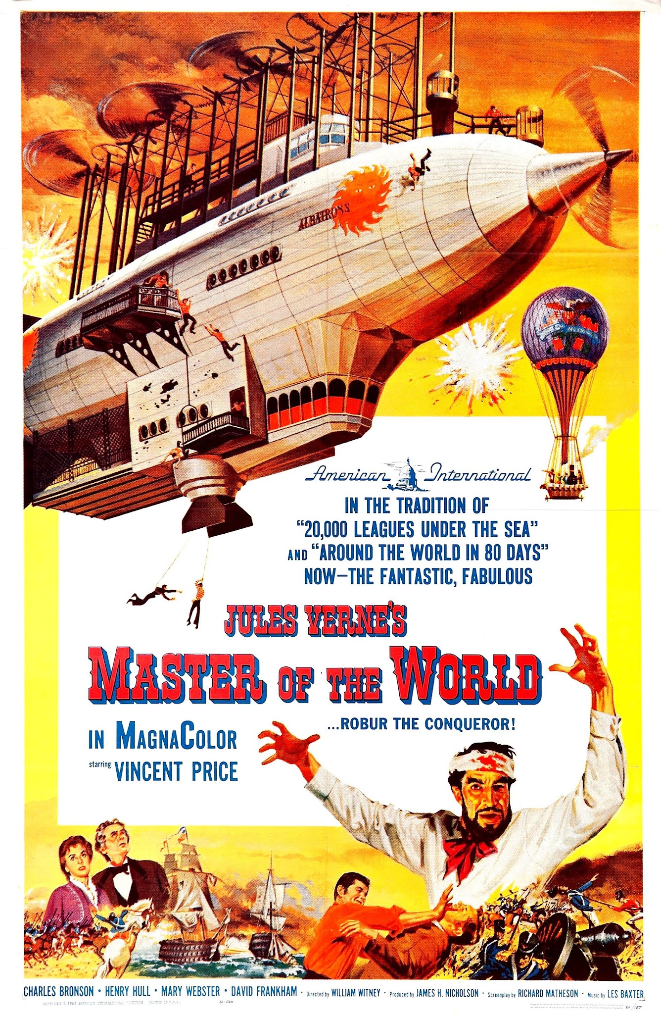 Le maître du monde (1960) William Witney - Master of the world (09.09.1960 / 1960)