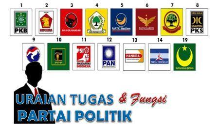 Tugas & Fungsi Partai Politik