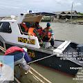 Polsek Muara Gembong dan  PMJ Adakan patroli , antisipasi Serpihan Sriwijaya Air