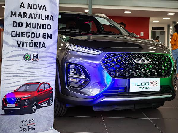 Caoa Chery Tiggo 3X já está em todas as concessionárias do Brasil