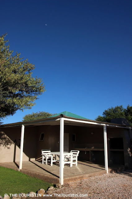 Camping at Khorab Safari Lodge, Farm Elefantenberg Nord in Otavi in Namibia