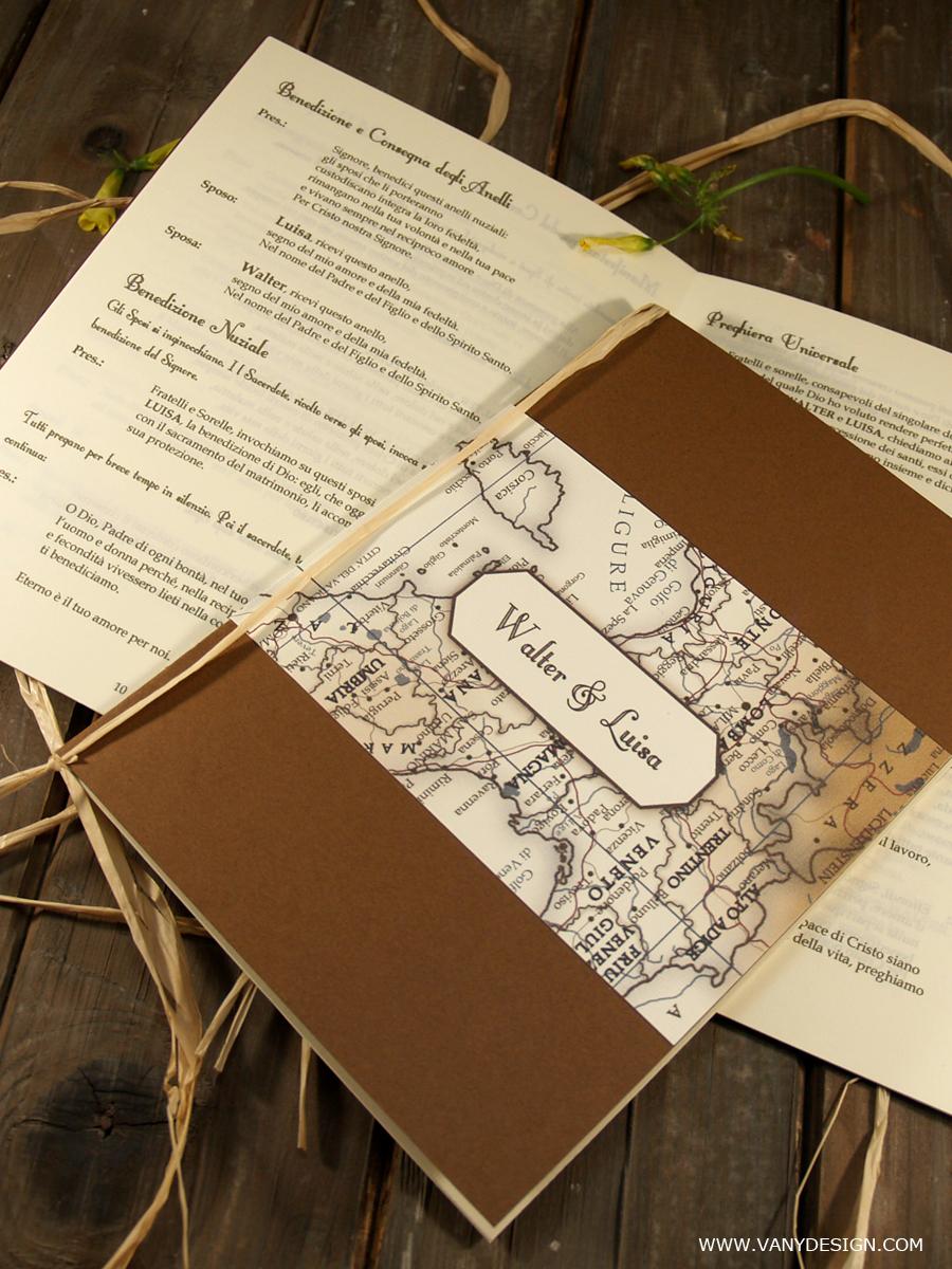 Libretto Messa Matrimonio Country Chic : Vany design esclusivo progetti fai da te per