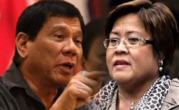 So what happened to the pronouncements of the tough-talking President Rodrigo Duterte? - De Lima