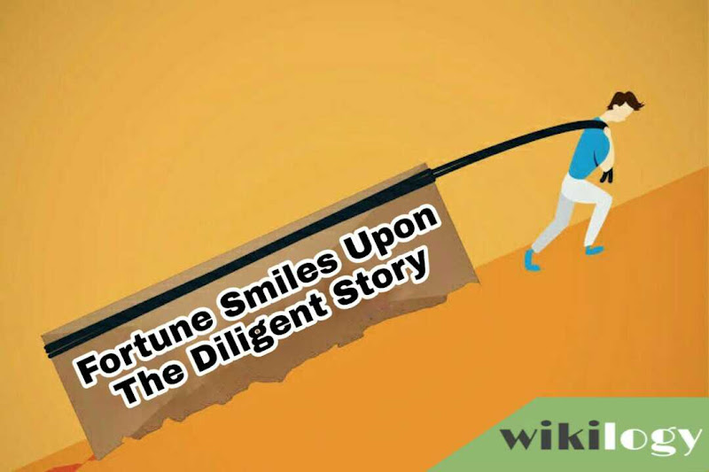 Fortune Smiles Upon The Diligent Completing Story
