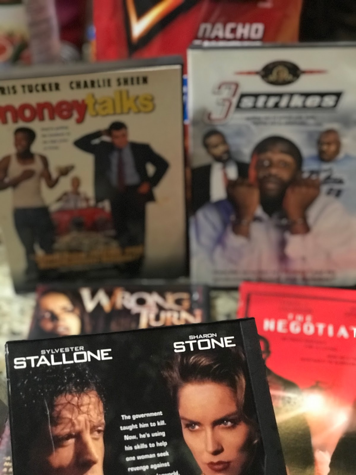 To Relax on this day, I have pulled out two funny movies.    Three Strikes and Money Talks    One Wrong Turn for the scary side of me on tonight    If I make it past 12 am, I will start on The Negotiator and The Specialist with Sylvester Stallone. Midweek Recap 1