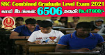 SSC CGL Recruitment 2021 6506 Posts