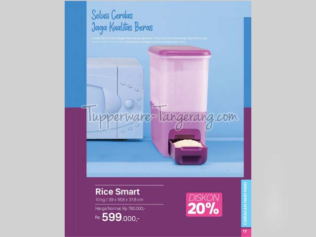 tempat beras, rice dispenser
