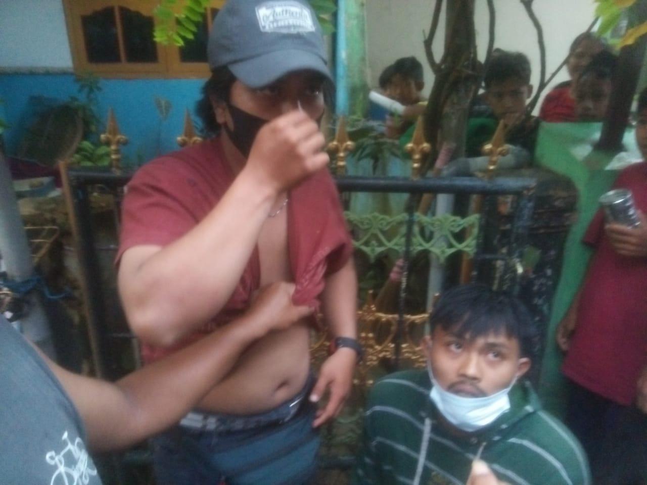 Jambret di Pondok Jaya Sepatan Tertangkap