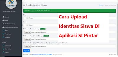Upload Identitas siswa
